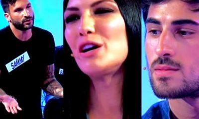Giovanna litiga con Sammy e Alessandro guarda