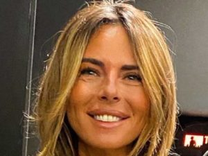 Paola Perego sorriso denti