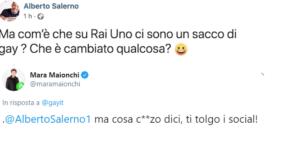 Marito Mara Maionchi Alberto Salerno Facebook