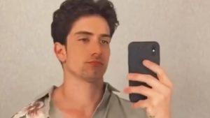 Un selfie di Javier Rojas