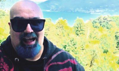Foto di Giovanni Ciacci con barba blu