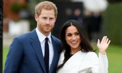 harry e meghan markle, saluto
