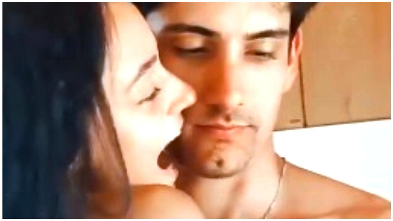 Foto di Javier con la fidanzata Vittoria