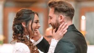 lorella boccia foto matrimonio