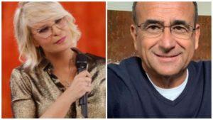 Carlo Conti, Amici: no al gesto contro Maria, il dettaglio c