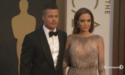 Angelina Jolie Brad Pitt red carpet