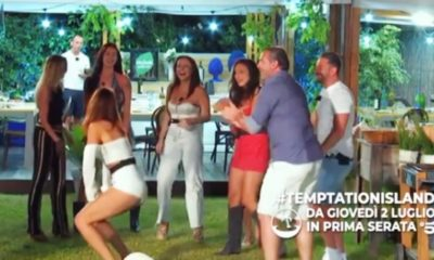 Lorenzo Amoruso balla a Temptation Island 2020