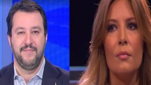Il figlio di Selvaggia Lucarelli contesta Salvini e viene id