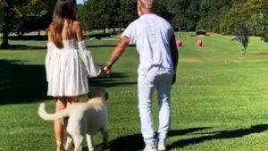Gianluca Vacchi, svelato sesso figlio con Sharon: il video e