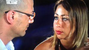 Alessandro e Sofia, Temptation: colpo di scena al falò, la p