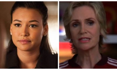 glee, Jane Lynch e Naya Rivera