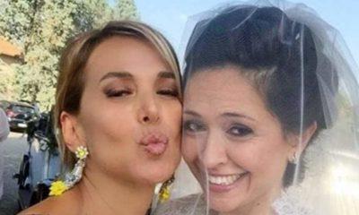 barbara d'urso e sorella eleonora selfie