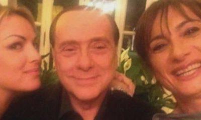 Foto Berlusconi insieme a Francesca Pascale e Vladimir Luxuria