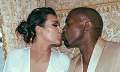 kim kardashian e kanye west foto insieme