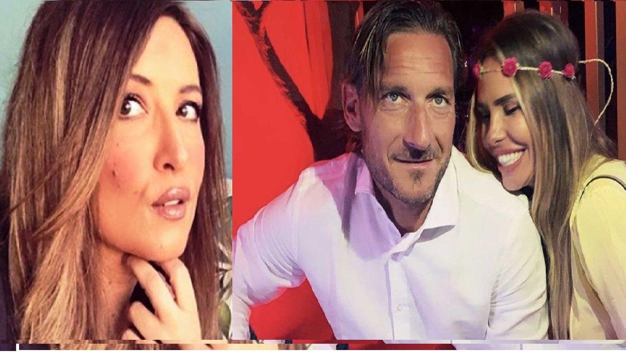 Selvaggia con Totti e Ilary
