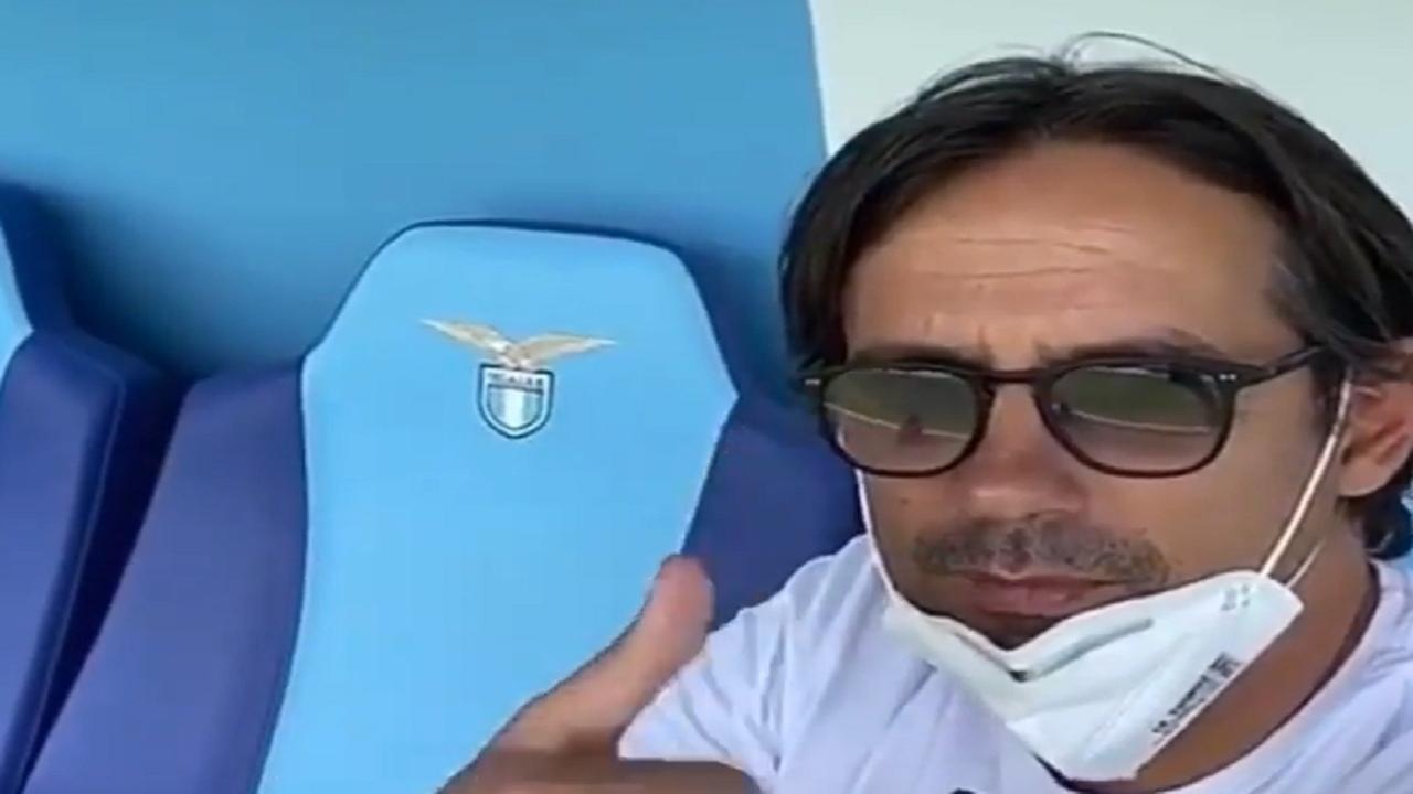 Simone Inzaghi primo piano