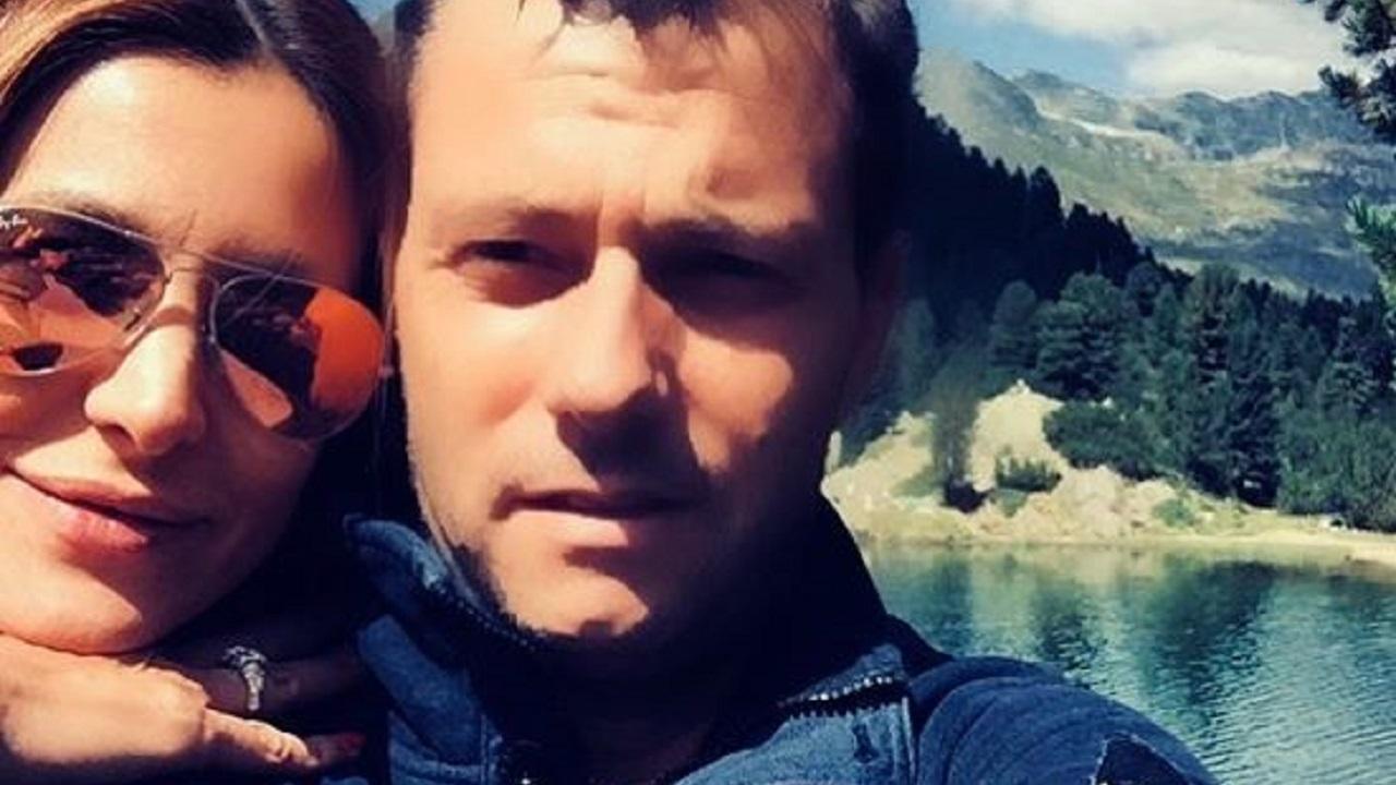 Adriana Volpe ed il marito Roberto Parli
