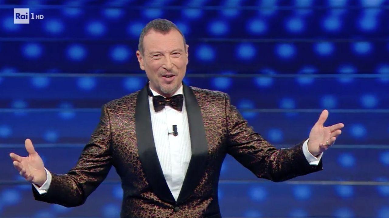 Amadeus, Franceschini si pronuncia su Sanremo: no pubblico