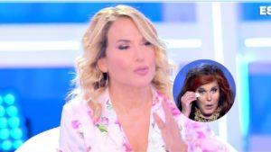 """Domenica Live: """"Patrizia De Blanck non si lava, lo sa tutta Roma"""". La reazione della d'Urso"""