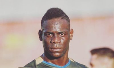 Balotelli impegnato con Alessia Messina