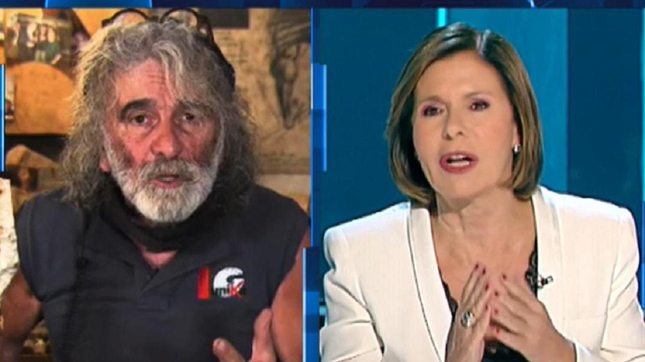 Mauro Corona chiede scusa a Bianca Berlinguer