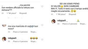 Roberto Parli commenti social