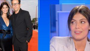 Alessandra Mastronardi a Domenica In parla del fidanzato Ross McCall