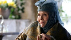 Game of Thrones, Lady Olenna: è morta l'attrice Diana Rigg