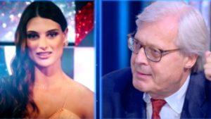 """Sgarbi sbugiarda Franceska Pepe: """"Intimità dietro un quadro"""""""