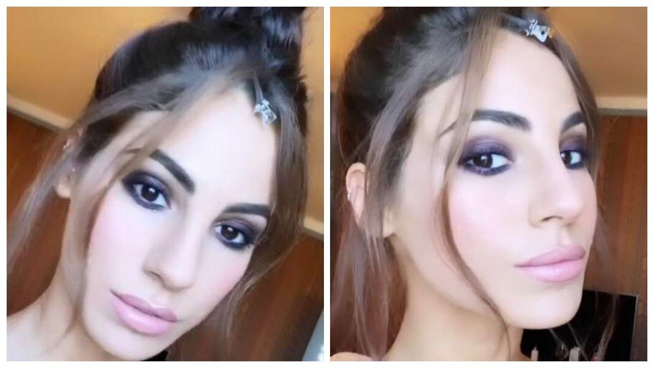 giulia de lellis, make up venezia 2020