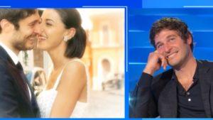 Lino Guanciale a Domenica In: parole d'amore per la moglie Antonella