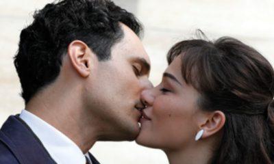 il paradiso delle signore marta e vittorio si baciano