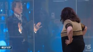 """Zequila e la Contessa De Blanck, volano i """"vaffa"""" al Gf Vip: il confronto"""