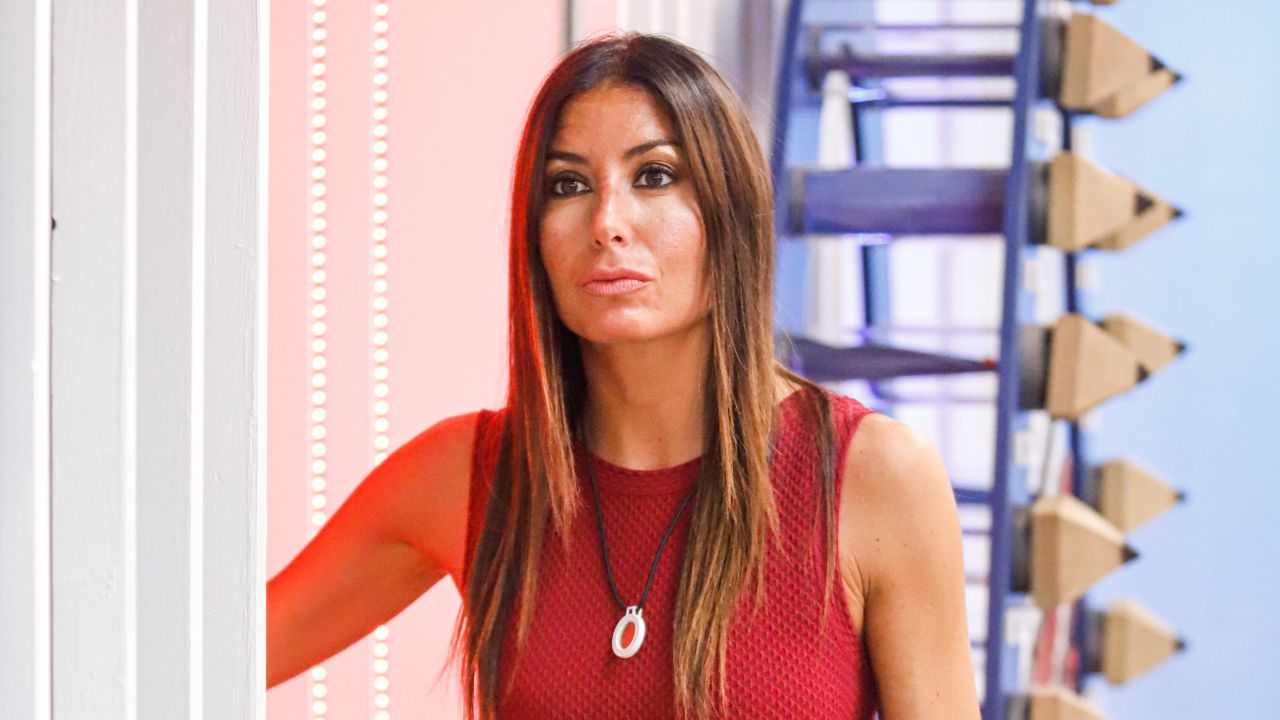 elisabetta gregoraci vestito rosso gf vip