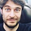 lino guanciale foto in treno