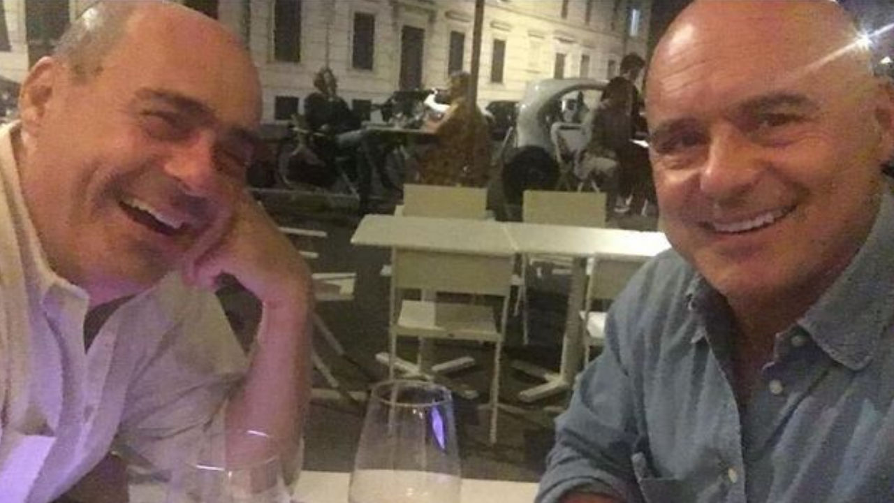 fratelli zingaretti selfie insieme