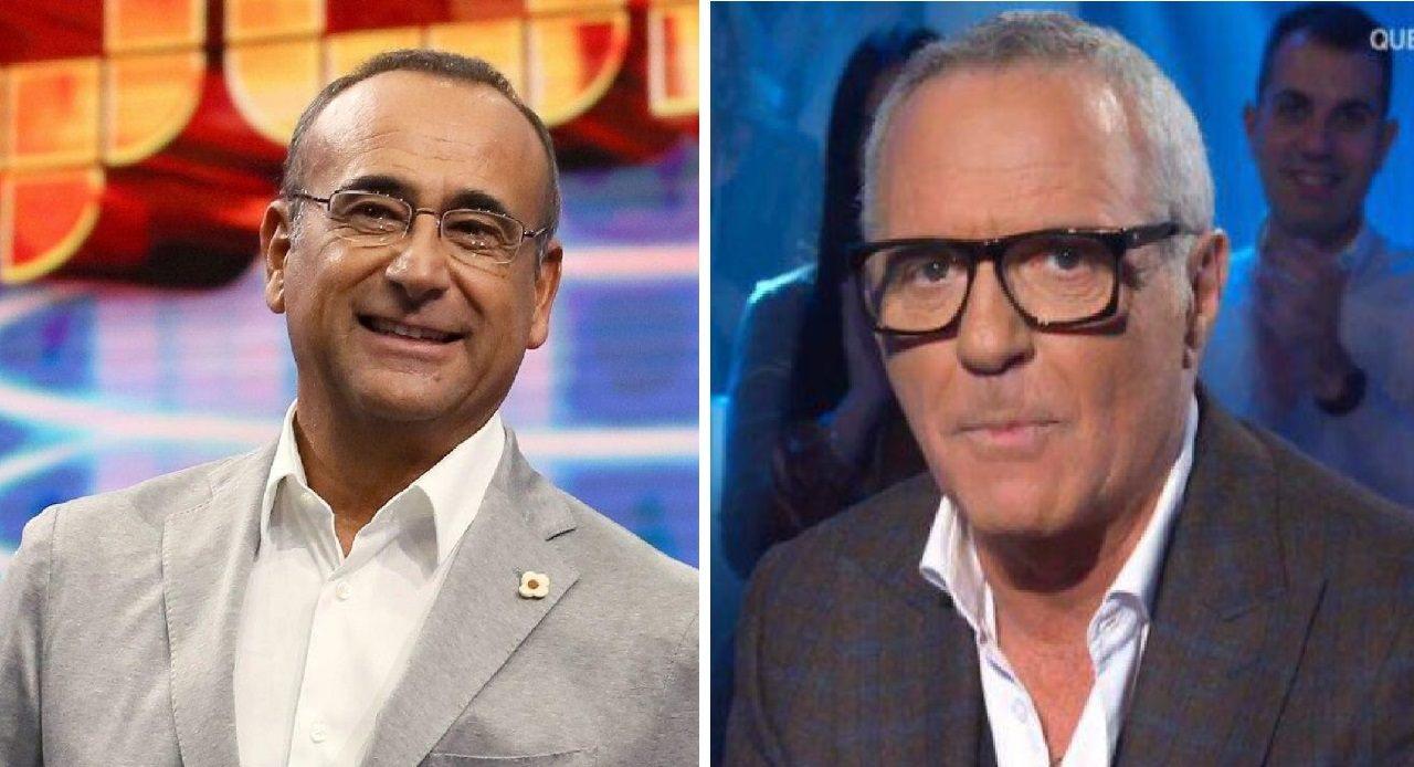 CArlo Conti e Giorgio Panariello