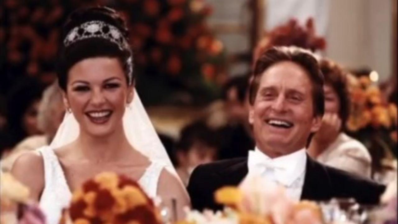 Catherine Zeta-Jones e Michael Douglas 20esimo anniversario di matrimonio