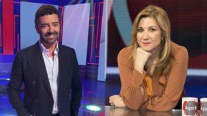 """Alberto Matano e Serena Bortone, gossip bomba: """"Si fingono amici ma si mal sopportano"""""""