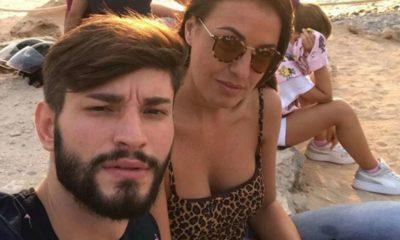 anna boschetti e andrea battistelli, selfie a ibiza