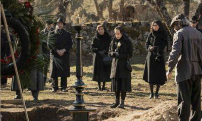 il segreto, funerale della marchesa