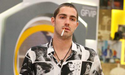 tommaso zorzi fuma al grande fratello