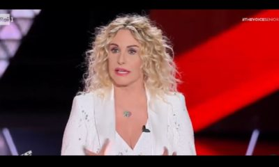Antonella Clerici finale The Voice 20 dicembre 2020