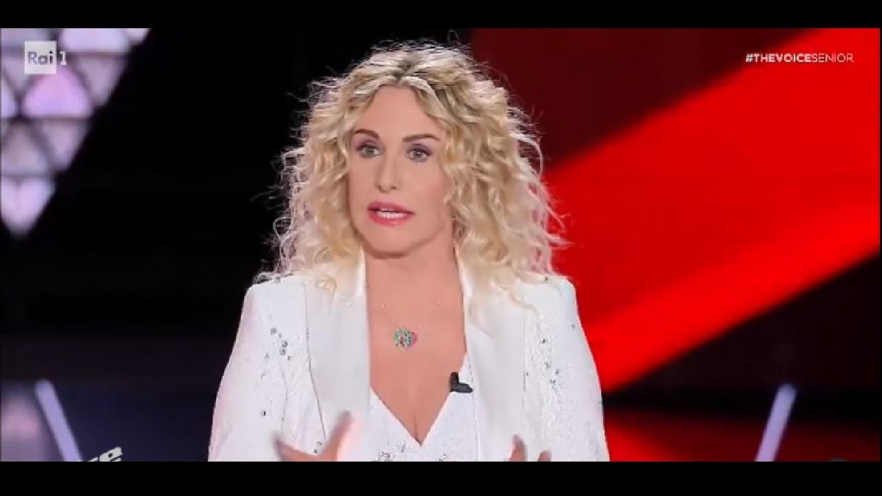 Antonella Clerici finale The Voice 20 dicembre 2020