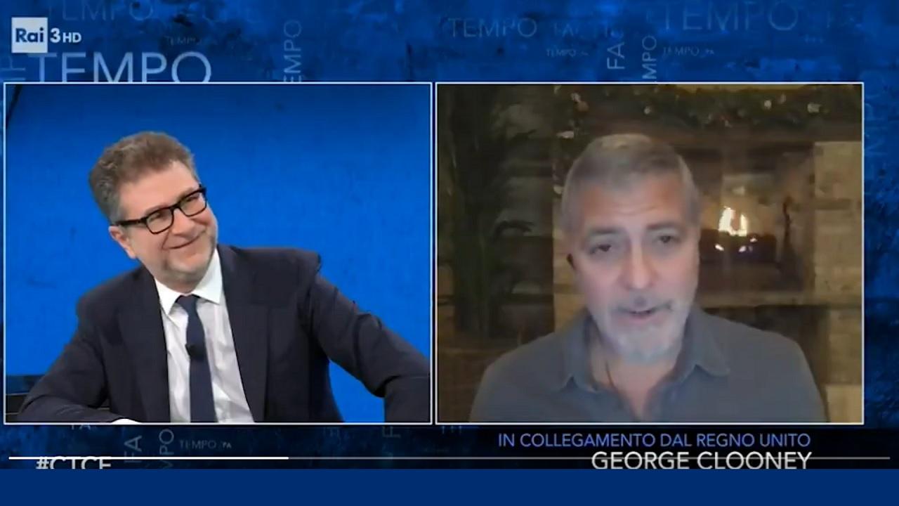Fazio, polemiche sul chachet di Clooney