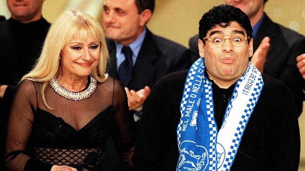 Maradona, le parole di raffaella carrà