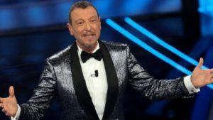 Ascolti tv, Sanremo 2021 fa flop Amadeus precipita al 42,1%