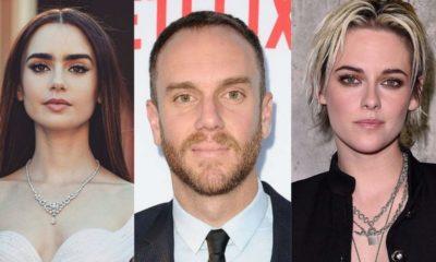 Lily collins, fidanzato Charlie e Kristen Stewart