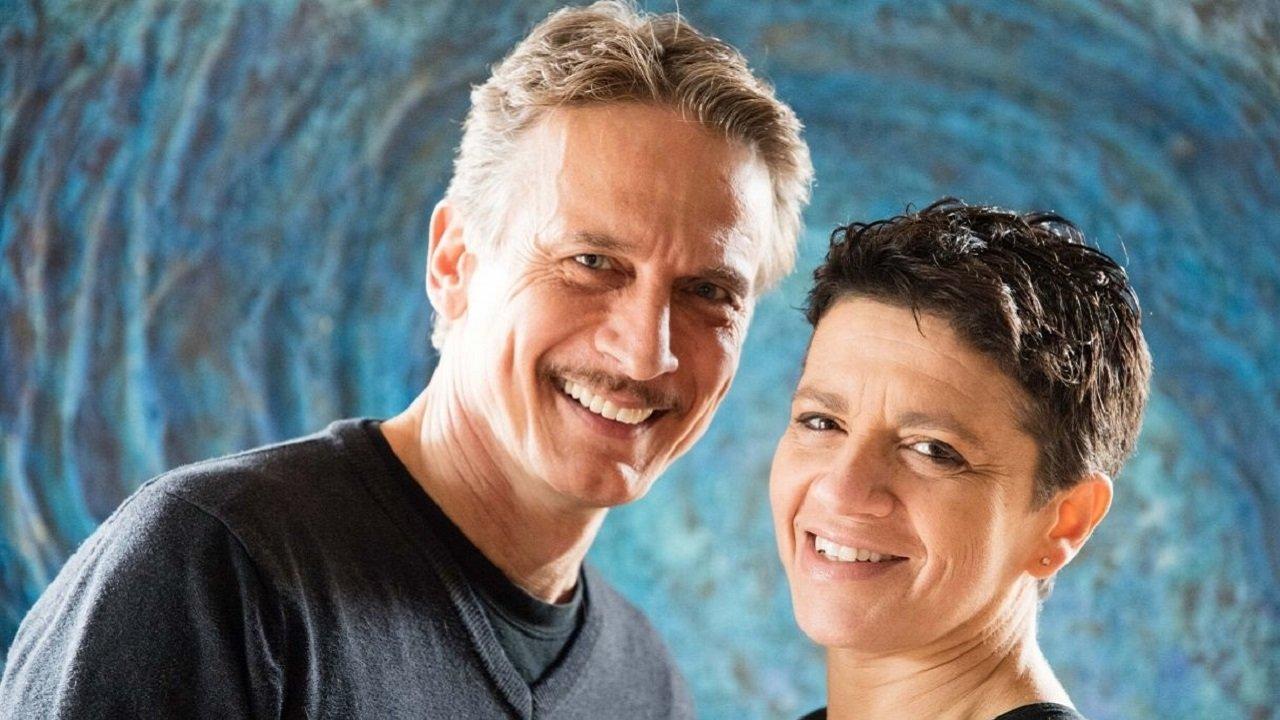 Cesare Bocci e la moglie oggi