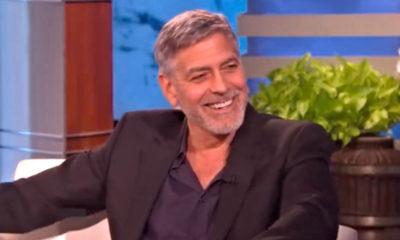 george clooney durante intervista